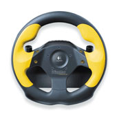 Wingman Formula GP Steering Wheel (Yellow)