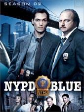 NYPD Blue Season 2 (6 Discs) on DVD