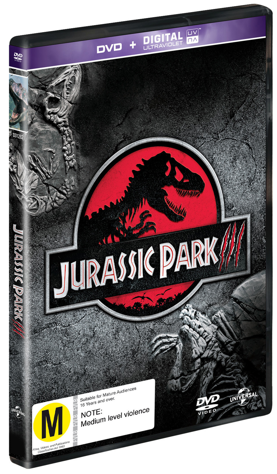 Jurassic Park 3 on DVD image