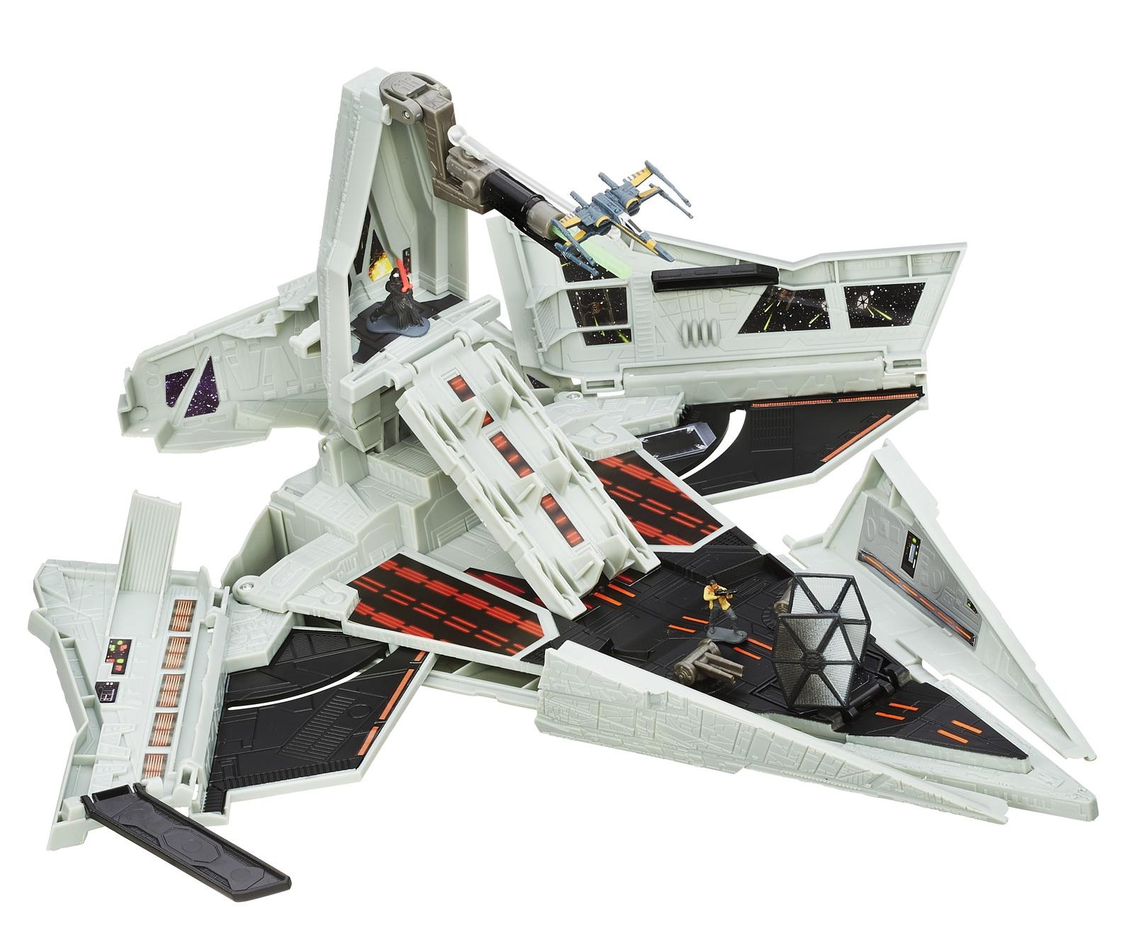 Star Wars: Micro Machines - First Order Star Destroyer Playset image