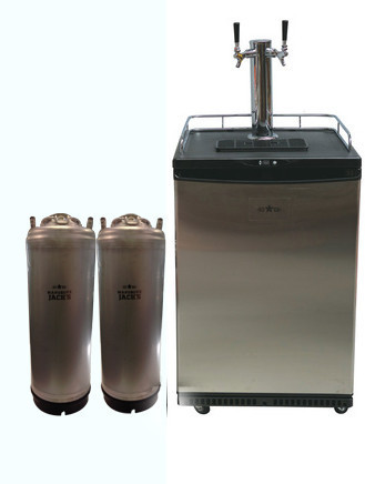 Mangrove Jack's: Kegerator - 2 Taps (Includes 2 New Kegs)