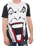 Batman - Joker Black and White T-Shirt - XL