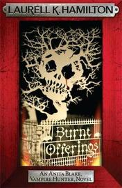 Burnt Offerings (Anita Blake #7) (red frame) by Laurell K. Hamilton image