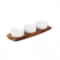 Athena Relish/Appetiser Set - Board & Dishes