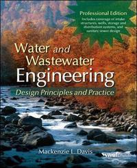 Water and Wastewater Engineering by Mackenzie Leo Davis image