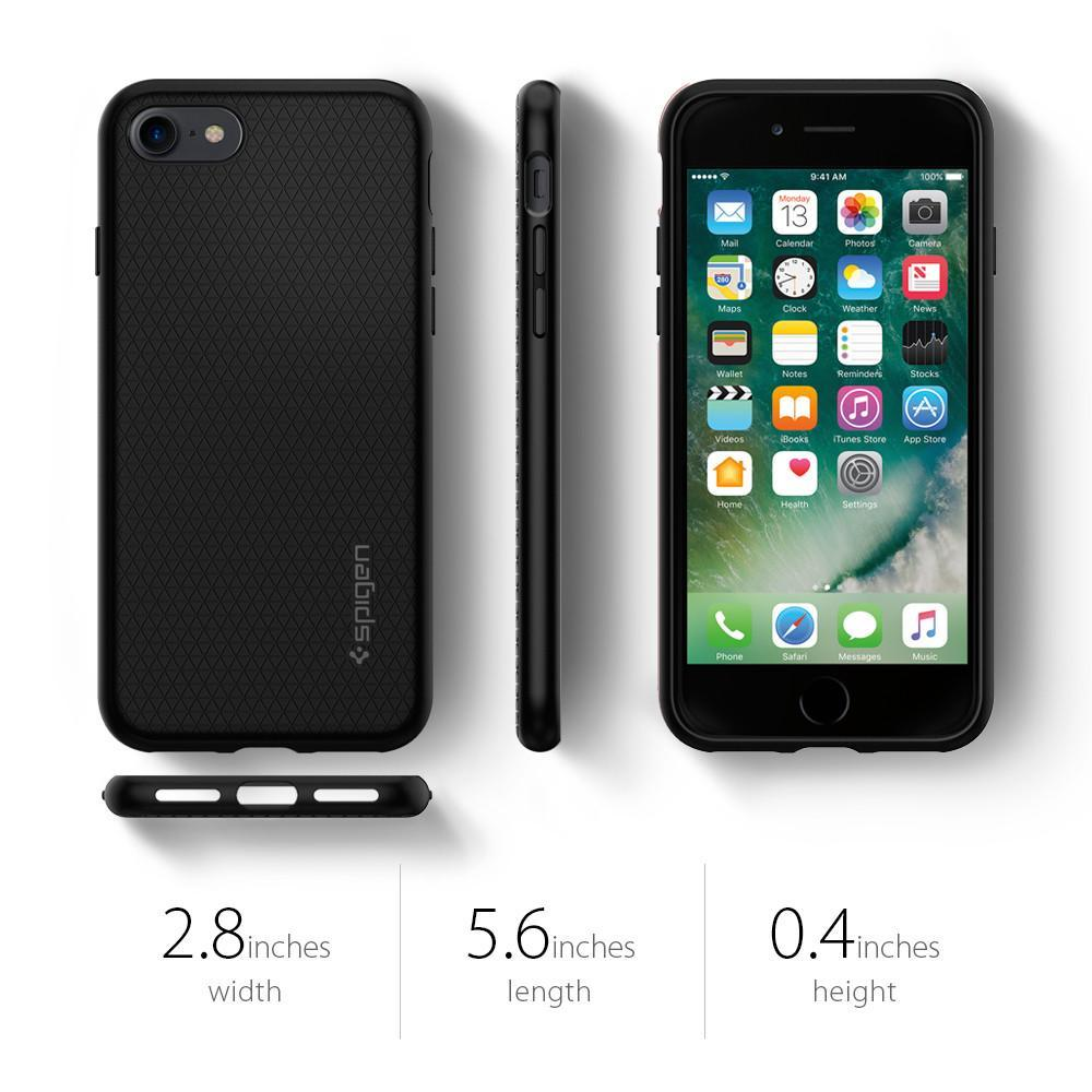 Spigen: iPhone 7 - Liquid Armour Case (Black) image