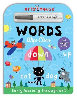 Arty Mouse Wipe Clean Words by Mandy Stanley
