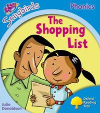 Oxford Reading Tree: Level 3: Songbirds: The Shopping List by Julia Donaldson image