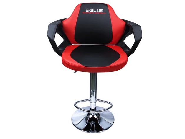 E-Blue Cobra Bar Chair (Red) for