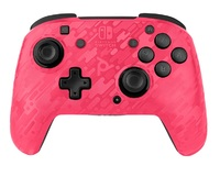 PDP Faceoff Deluxe Wireless Controller - Pink Camo for Switch