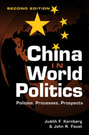 China in World Politics by Judith F. Kornberg image