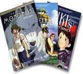 Studio Ghibli Triple Pack on DVD