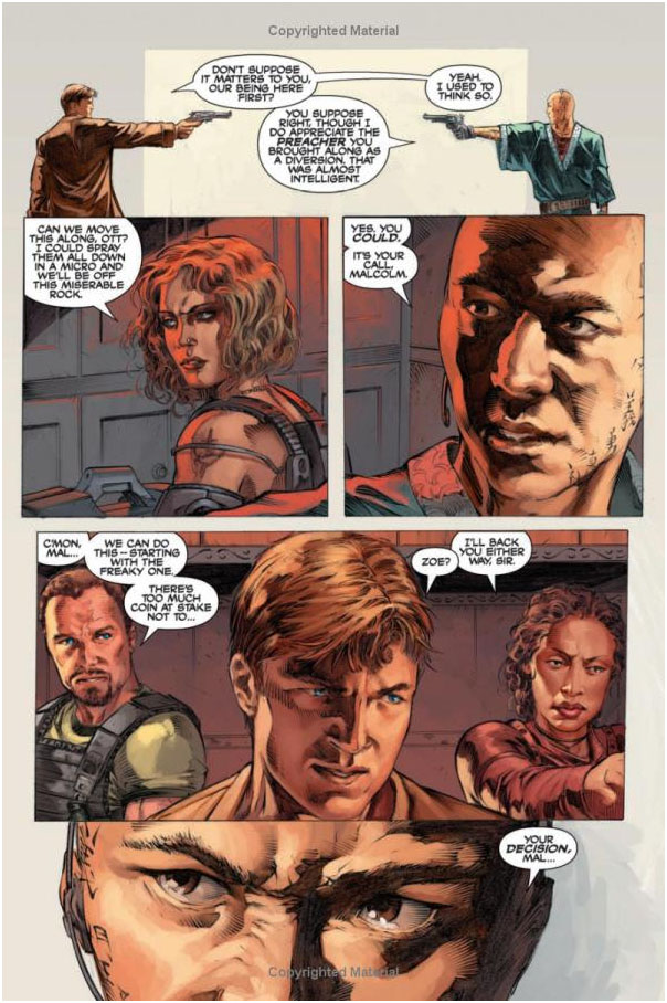 Serenity: Those Left Behind by Joss Whedon image