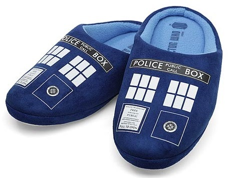 Doctor Who TARDIS Slippers (XL)