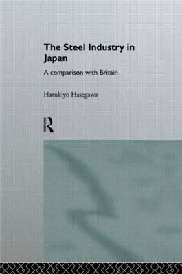 The Steel Industry in Japan by Harukiyo Hasegawa image