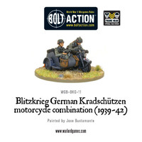 Blitzkreig - German Kradschutzen Motorcycle Combination