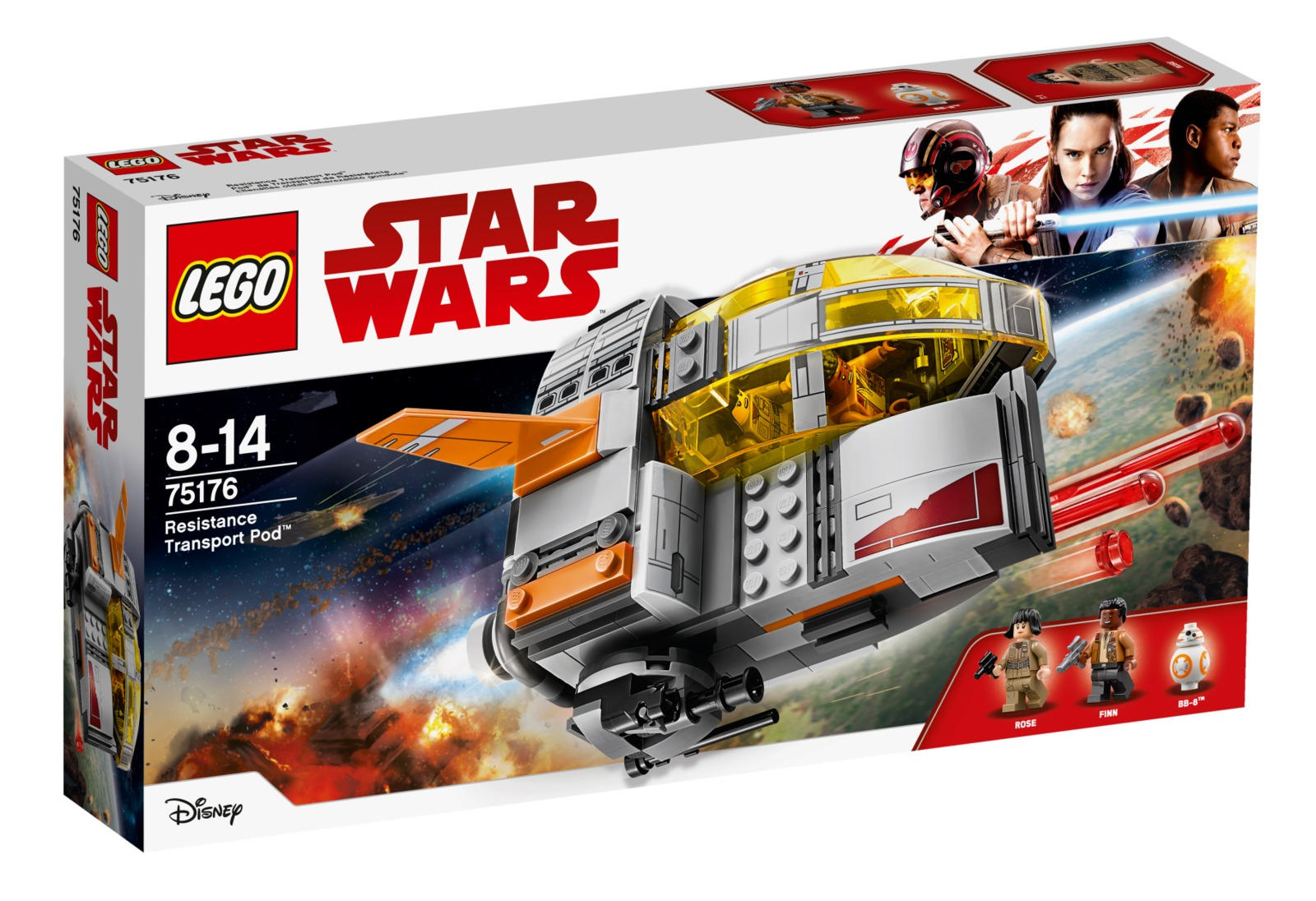 LEGO Star Wars - Resistance Transport Pod (75176) image