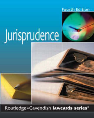 Jurisprudence Lawcards by Routledge image
