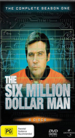 The Six Million Dollar Man - Complete Season 1 (6 Disc Set) on DVD