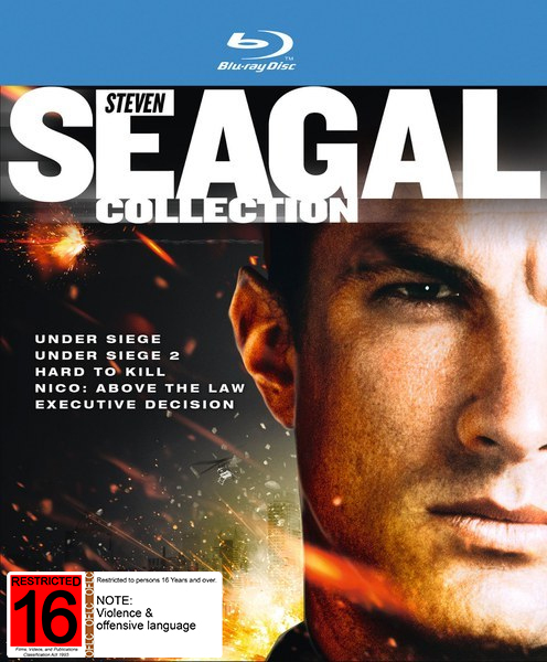 Steven Seagal Collection on Blu-ray