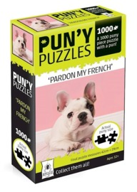 Pun'y: 1,000-Piece Puzzle - Pardon My French
