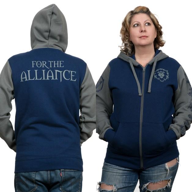 World of Warcraft Alliance Pride Zip-Up Hoodie (2XL)