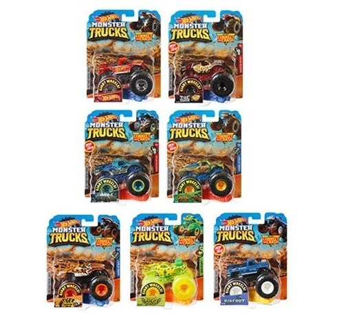 Hot Wheels: Monster Trucks - 1:64 Scale Vehicle (Assorted Designs)