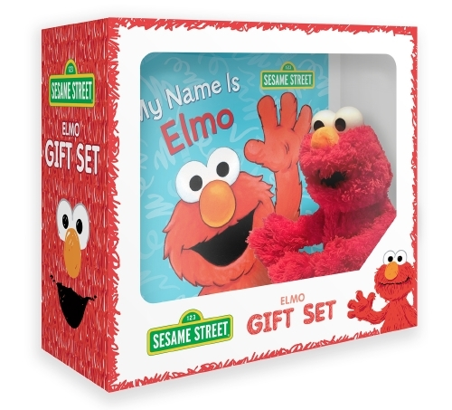 Sesame Street: Elmo Book & Plush image