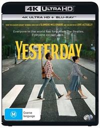 Yesterday on UHD Blu-ray