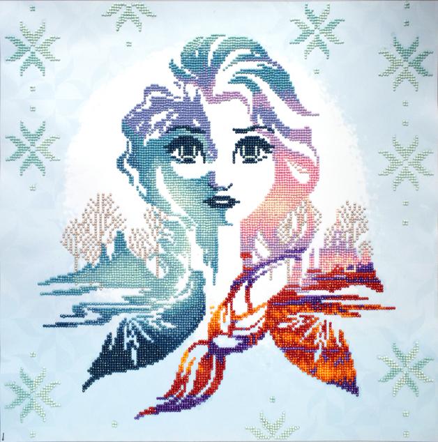Diamond Dotz: Facet Art Kit - Elsa Silhouette