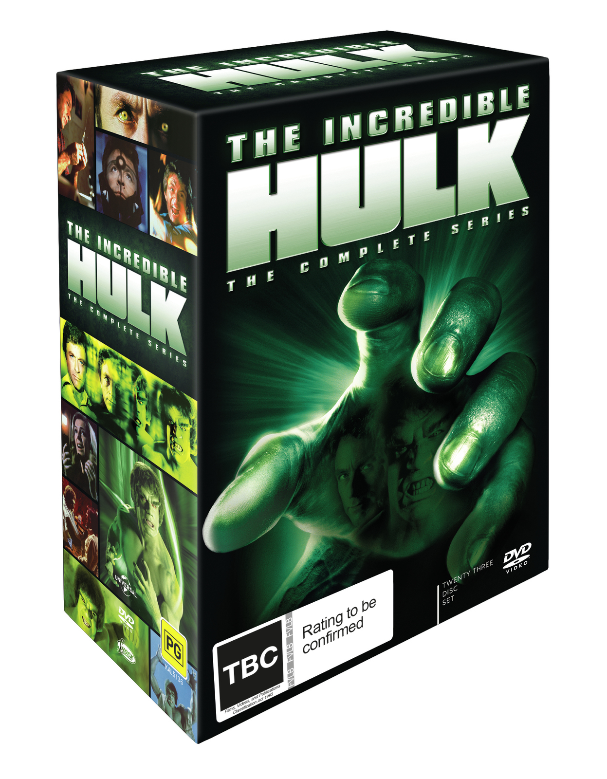 The Incredible Hulk Complete Tv Series | DVD | In-Stock ...