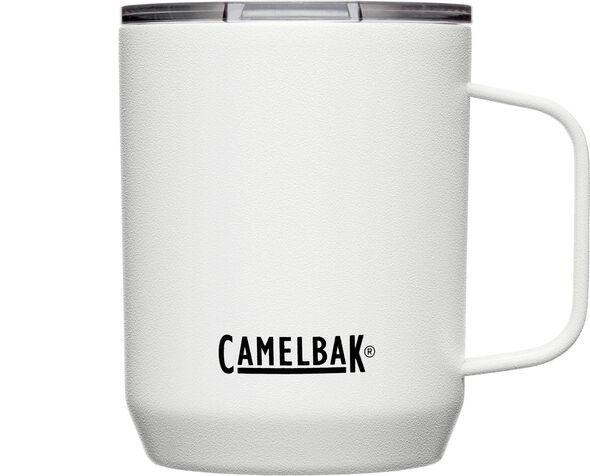 Camelbak: White Stainless Steel Vacuum Insulated Horizon Camp Mug - 355ml