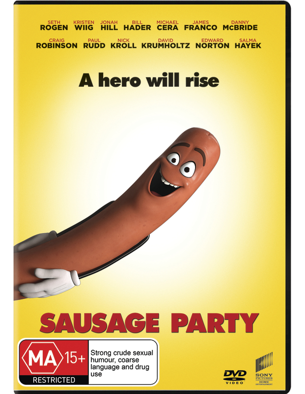 Sausage Party on DVD