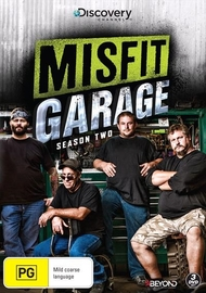 Misfit Garage: Season 2 on DVD