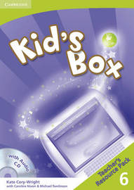Kid's Box 6 Teacher's Resource Pack with 2 Audio CDs: Level 6 by Kate Cory-Wright image