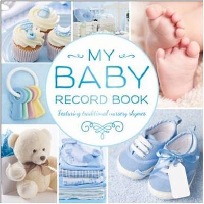 My Baby Record Book (Blue) image