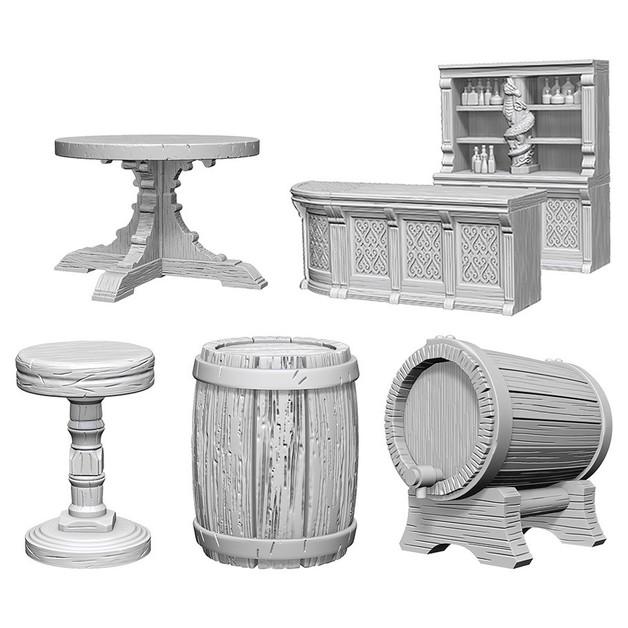 Pathfinder Deep Cuts: Unpainted Miniatures - Rusty Dragon Bar
