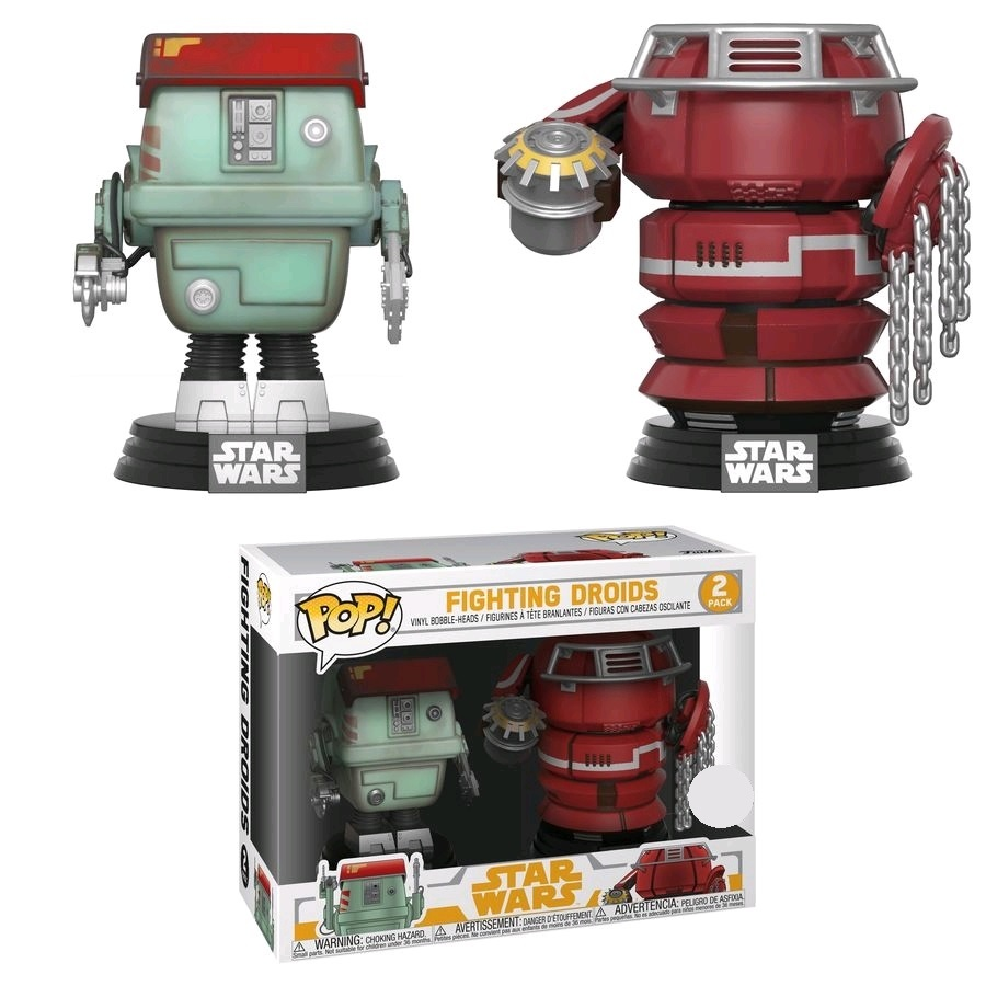 Star Wars: Solo - Fighting Droids Pop! Vinyl 2-Pack image