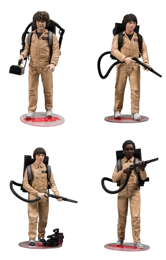 Stranger Things: Ghostbusters - Deluxe Action Figure (4-Pack) image