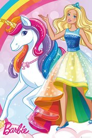 Barbie Unicorn Maxi Poster (834)