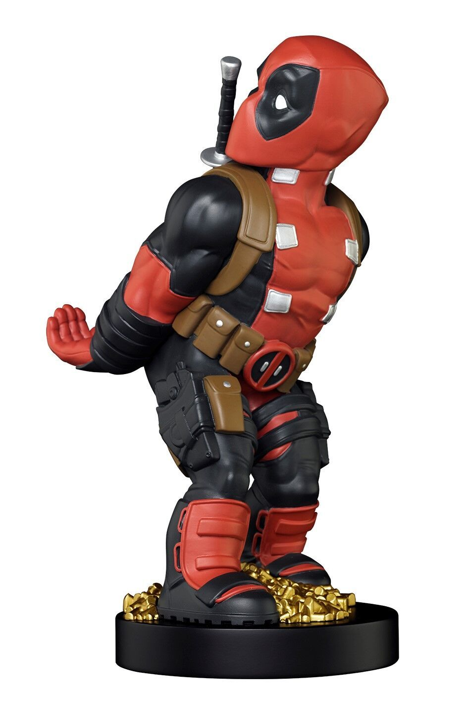 Cable Guy Controller Holder - Deadpool New Legs Version for PS4 image