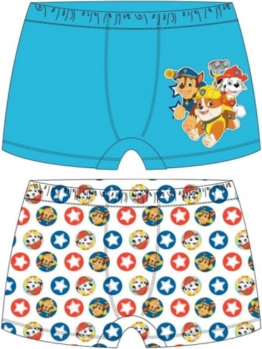 Paw Patrol: Marshall, Chase & Rubble Boys Boxer Shorts 2pp - 2-3
