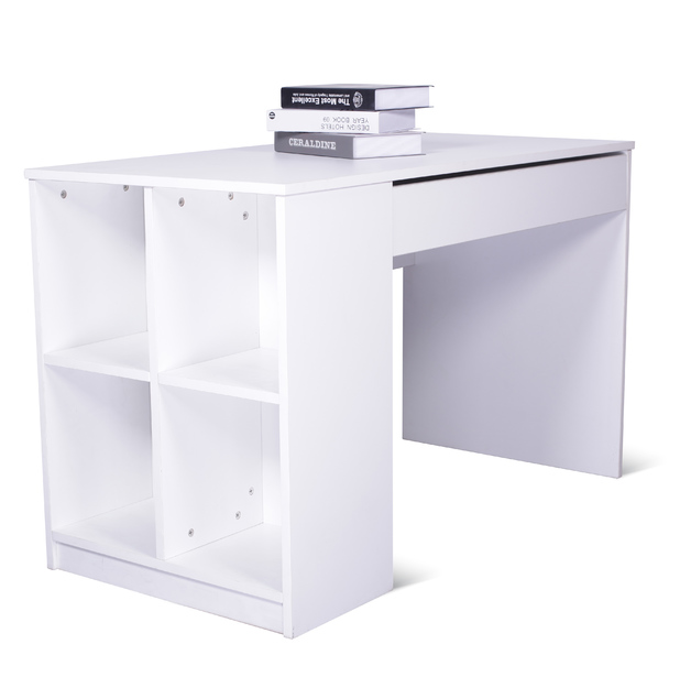 Gorilla Office: Home Office Desk with Shelves