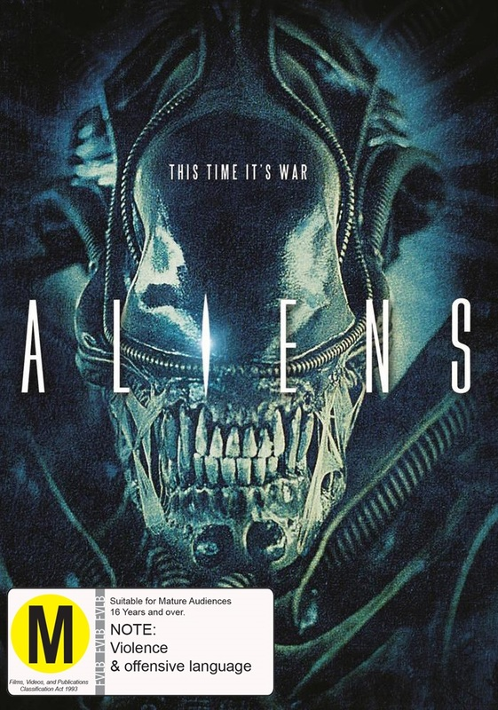 Aliens on DVD