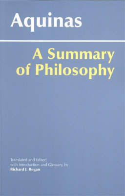 A Summary of Philosophy by Thomas Aquinas image