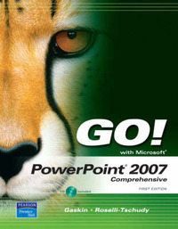 Go! with PowerPoint 2007: Comprehensive by Diane Roselli image