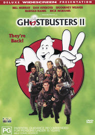 Ghostbusters II on DVD