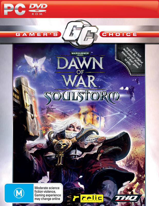 Warhammer 40.000: Dawn of War - Soulstorm (Gamer's Choice) for PC Games