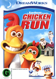 Chicken Run on DVD