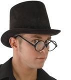 Steampunk - Suede Coachman Hat (Black)